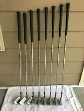 Pinnacle golf irons, steel shaft, 3-9, PW