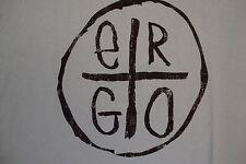 Ergo Apparel  Name Brand Logo Classic Style New Soft Blue T Shirt 2XL
