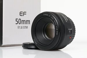 CANON EF 50mm f1,8 STM Canon EOS EF mount lens Objektiv 1.8 50 nifty fifty MINT!