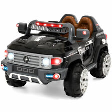 NEW 12V MP3 Kids Ride on Truck Car RC Remote Control LED Lights AUX and Music ++