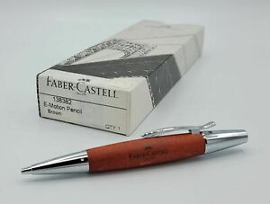 Faber Castell e-Motion Brown Wood Pencil
