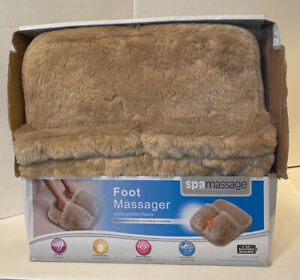 Spa Massage Foot Massager With Comfort Fabric