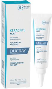 Ducray Keracnyl Mat Anti Shine Tightens Pores Neutralizes Shine For 12 Hours