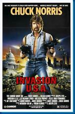 Invasion Usa Chuck Norris Movie Poster24in x 36in