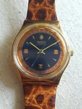 Swatch P.D.G. GX122 1992  Standard Gents 34mm Leather