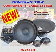 "PIONEER TS-Z65CH 6.5"" COMPONENT SPEAKER SYSTEM 330 WATTS MAX WOOFER + TWEETER"