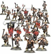 Warhammer Age of Sigmar Warriors of Chaos Marauders x20 Slaves to Darkness NEW