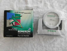 Remeron Advertising Clock - New In Box - Mirtazapine