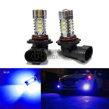 2x H10 9145 LED Bulbs High Power DRL SMD 5730 Fog Light Projector Bulb Blue