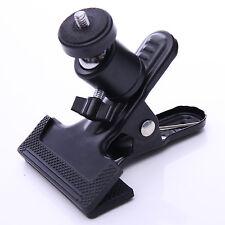 "CY 1Pc Heavy Duty Clip Grip 1/4"" Adapter Screw for Camera Tripod Flash Bracket"