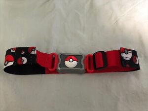 Pokemon Poke Ball Theme Belt