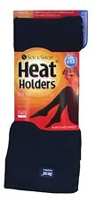 Heat Holders - Ladies Thick 140 Den Fleece Lined Winter Thermal Tights Navy Blue