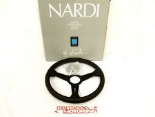 NARDI 340MM STEERING WHEEL CLASSIC PERF LEATHER BLK