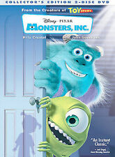 Monsters, Inc. DVD 2-Disc Set, Collectors Edition BRAND NEW