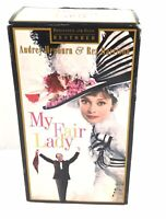 My Fair Lady Audrey Hepburn & Rex Harrison VHS Movie Part 1 & 2