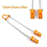 2000lbs Capacity Chain Drum Lifter Steel Drum Vertical Drum Clamp Barrel Lift
