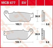 Bremsbelag Honda NC 750 D Integra ABS RC71A Bj. 2015 TRW Lucas MCB677