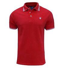 Gio Goi Men's Paco Polo T Shirt Red