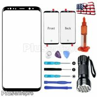For Samsung Galaxy S8+ Plus OEM Quality Front Glass Screen Replacement Tools Kit