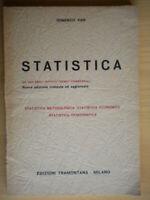 Statistica metodologica economica demografica vian domenico scuola tecnici 13