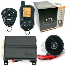 Avital 5305L 2-Way Remote Auto Car Starter Alarm Security System Replaced 5303L
