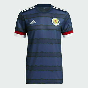 Herren Schottland Trikot Heimtrikot Rundhals Kurzarm Fußball Sport
