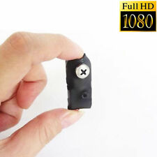 1080P smallest mini spy hidden Screw CAM nanny mciro HD camera DVR recorder