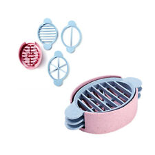 Boiled Egg Slicer Cutter Mushroom Tomato Kitchen Chopper Wheat Straw+PP Tool
