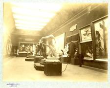 Storms, Anvers, Salon Vintage albumen print, Tirage albuminé  20x25  Cir