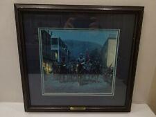 Framed Mort Kunstler Stonewall Jackson at Harpers Ferry Matted Print 10x10