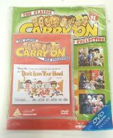 The Classic Carry On Film Collection 11 Dont Lose Your Head Magazine DVD sealed