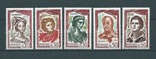 FRANCE - 1961 YT 1301 à 1305 - TIMBRES NEUFS** LUXE