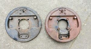 1939-1941 Ford Hydraulic Juice Brake Front Backing Plates Hot Rod Flathead 1932