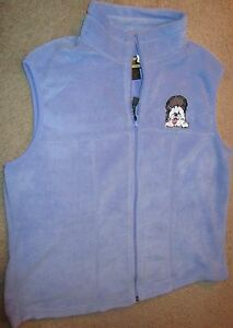 WOMEN'S VIOLET FLEECE VEST