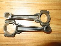 "Vintage Evinrude Speeditwin Outboard Connecting Rods 2x ""C"" Service Evinrude"