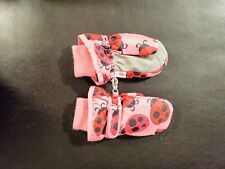 The Childrens Place Ladybug mittens, Size 2T-3T