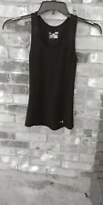 Under armour Womens Small Tank Top Black Short Sleeve