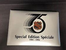 1991-92 Kraft Hockey Complete Set with binder (92 Cards) BV$100