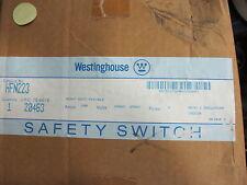 Westinghouse Hfn223 100 Amp 240 Volt 2p3w Fusible Disconnect New B