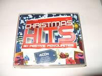 Christmas Hits 4 cd (80 XMAS TRACKS)  Ex Condition