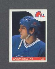 Anton Stastny signed Quebec Nordiques 1985-86 Topps hockey card