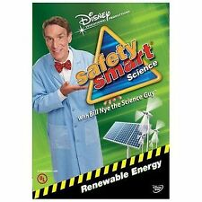 SAFETY SMART SCIENCE WITH BILL NYE THE SCIENCE GUY: RENEWABLE ENERGY NEW DVD