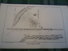 1802 Little Falls + Canal New York Ny 5.5 X 9 Map