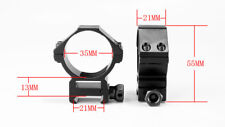 34mm/35mm Weaver Rings Low Profile 20mm Picatinny Rail Mount Rings Tactical