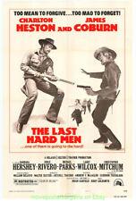 Last Duro Men Póster Película Original 1976 Plegado 27x41 Charlton Heston