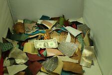 Earring Makers 1 Lb Bag Small Exotic Print Scrap Leather Read Description
