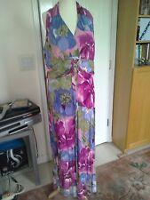 Ladies Long Summer Dress - size 16/18
