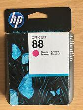Genuine HEWLETT PACKARD HP 88 Magenta Cartouche d'encre C9387AE C9387A 2018 date