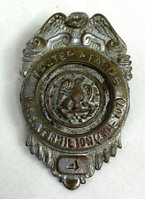 Vintage Original Uss Vermilion Aka-107 Master At Arms Badge