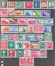 Stamp Germany Year 1944-5 Mi 864-910 Set WWII 3rd Reich Wehrmacht Tank Adolf MH